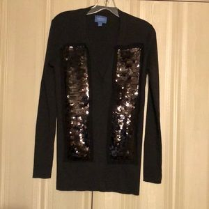 Vera wang new without tags sequined sweater.